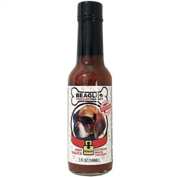 Beagle Freedom Project Extreme Naga Jolokia Hot Sauce - Klein