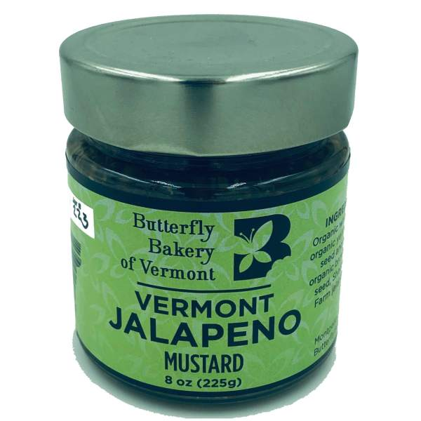 Butterfly Bakery of Vermont Jalapeno Mustard