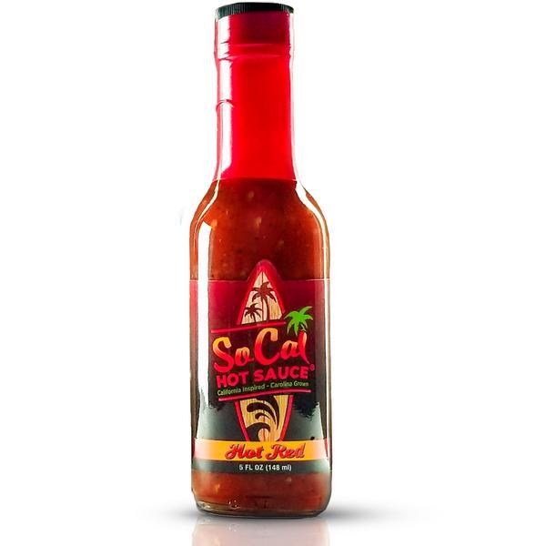 SoCal Hot Red Hot Sauce