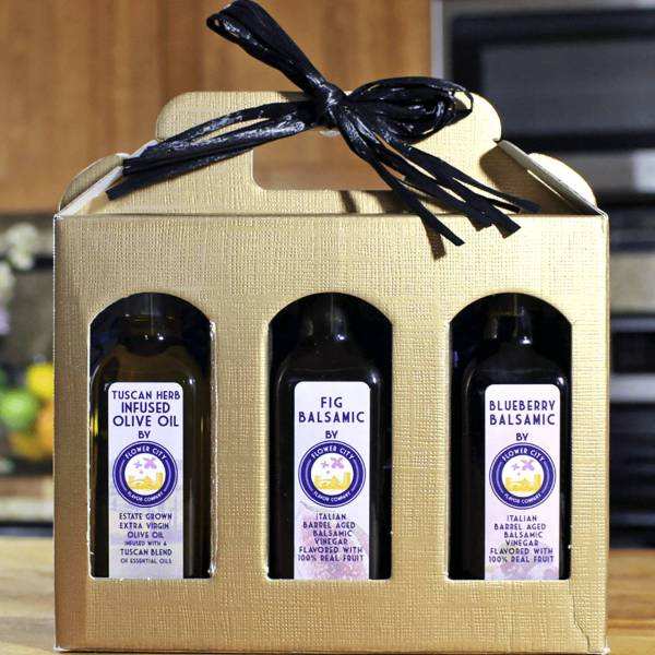 Olive Oil and Vinegar Gift Set
