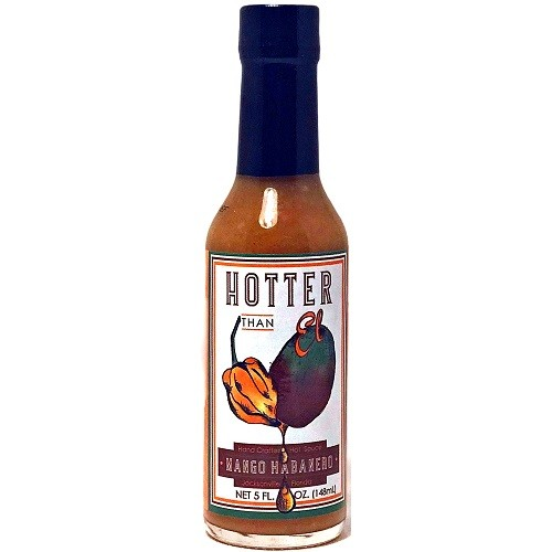 Hotter Than El Mango Habanero Hot Sauce