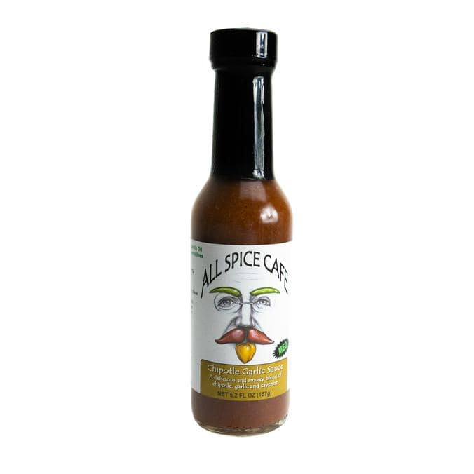 All Spice Cafe Chipotle Garlic Hot Sauce