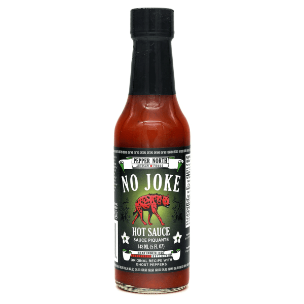 Pepper North No Joke Hot Sauce