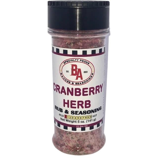 Burning Asphalt Cranberry Herb Rub & Seasoning