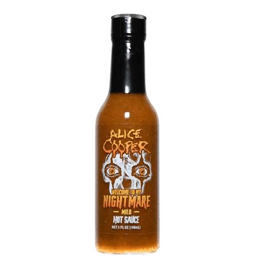 Alice Cooper Welcome To My Nightmare Mild Hot Sauce