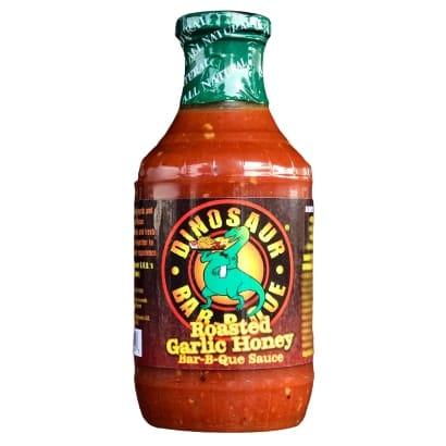 Dinosaur Bar-B-Que Roasted Garlic Honey BBQ Sauce