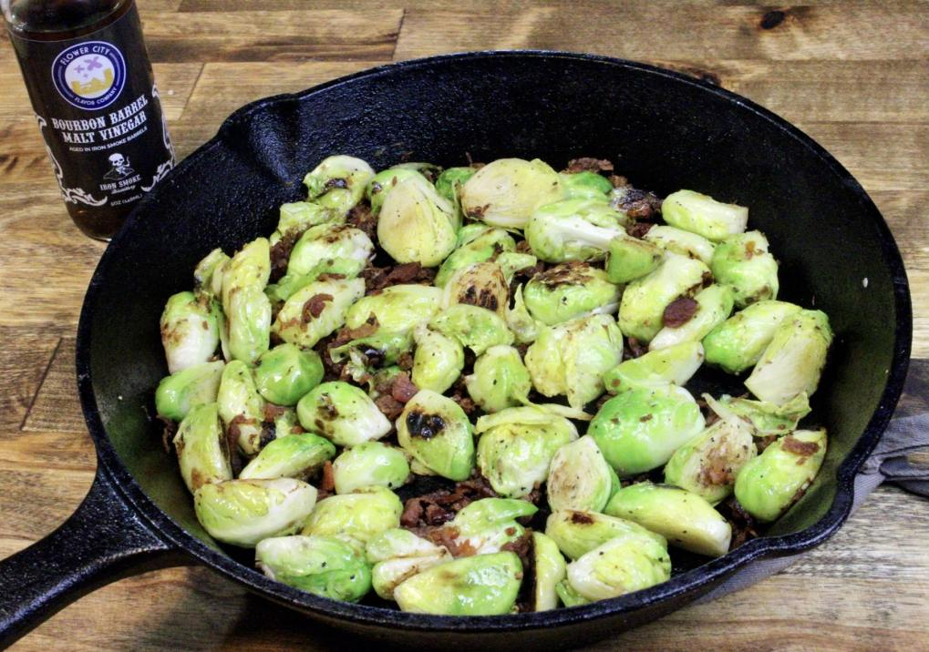 Malt Vinegar Brussels Sprouts