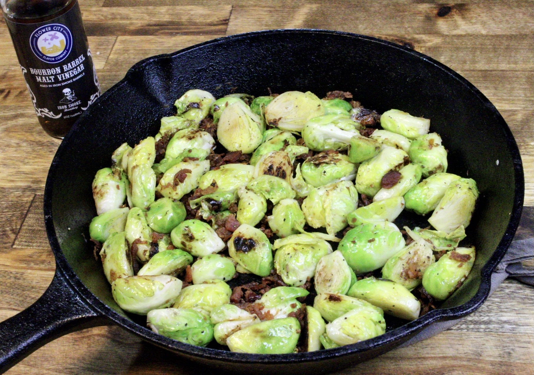 Malt Vinegar Brussels Sprouts