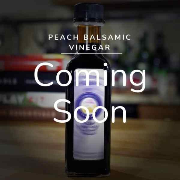 Peach Balsamic Vinegar