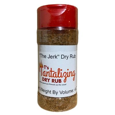 "T's Tantalizing ""The Jerk"" Dry Rub"