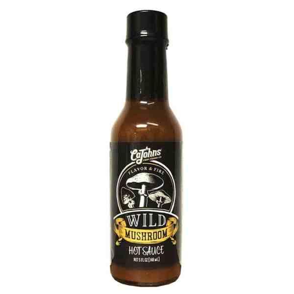 CaJohns Wild Mushroom Hot Sauce