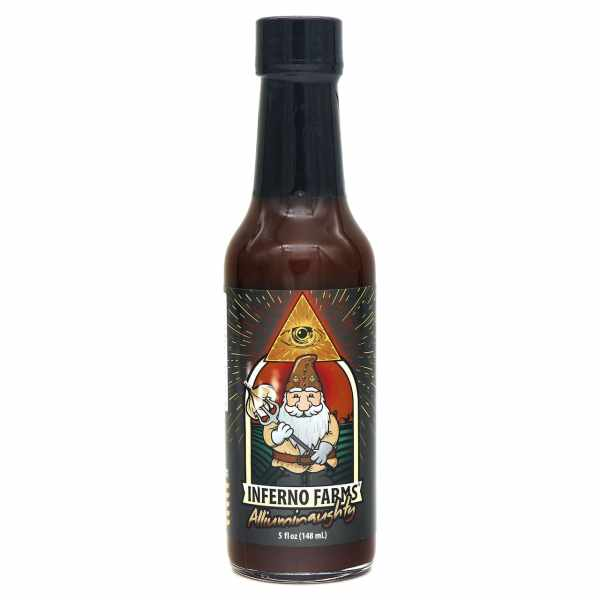 Inferno Farms Alliuminaughty Hot Sauce