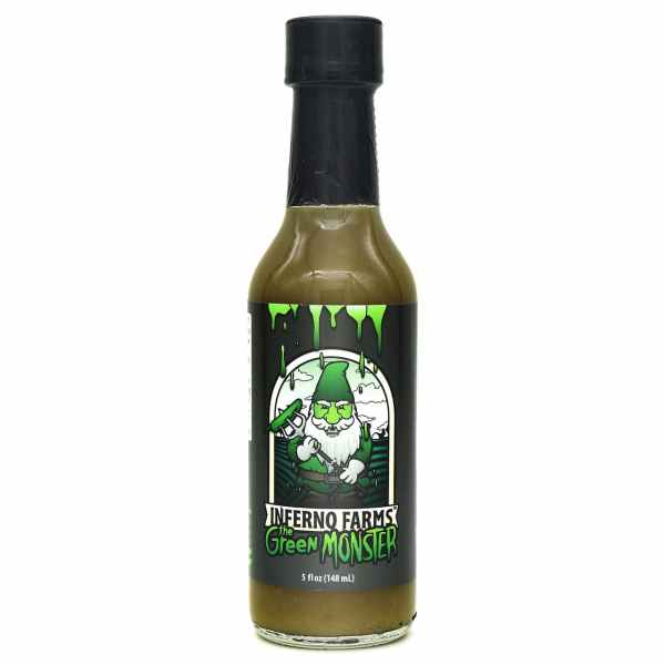 Inferno Farms The Green Monster Hot Sauce