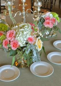flowerduet-mercuryglass-garden-centerpiece