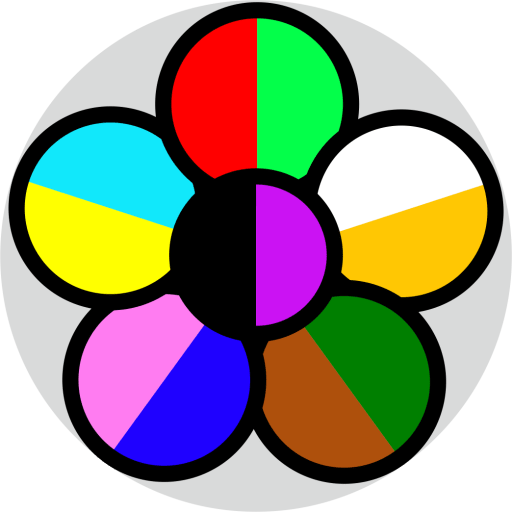 A flower pattern with 13 colours.