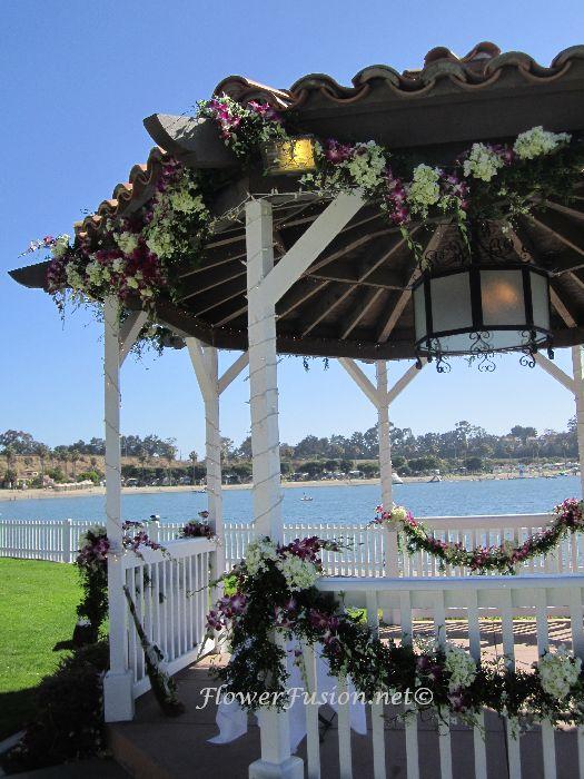 Newport Dunes Wedding Newport Beach CA FlowerFusion