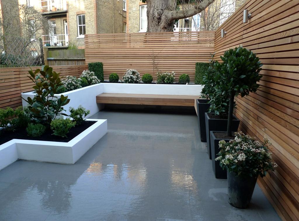 1000+ images about Garden Design on Pinterest   Roof ... on Modern Back Garden Ideas id=96468