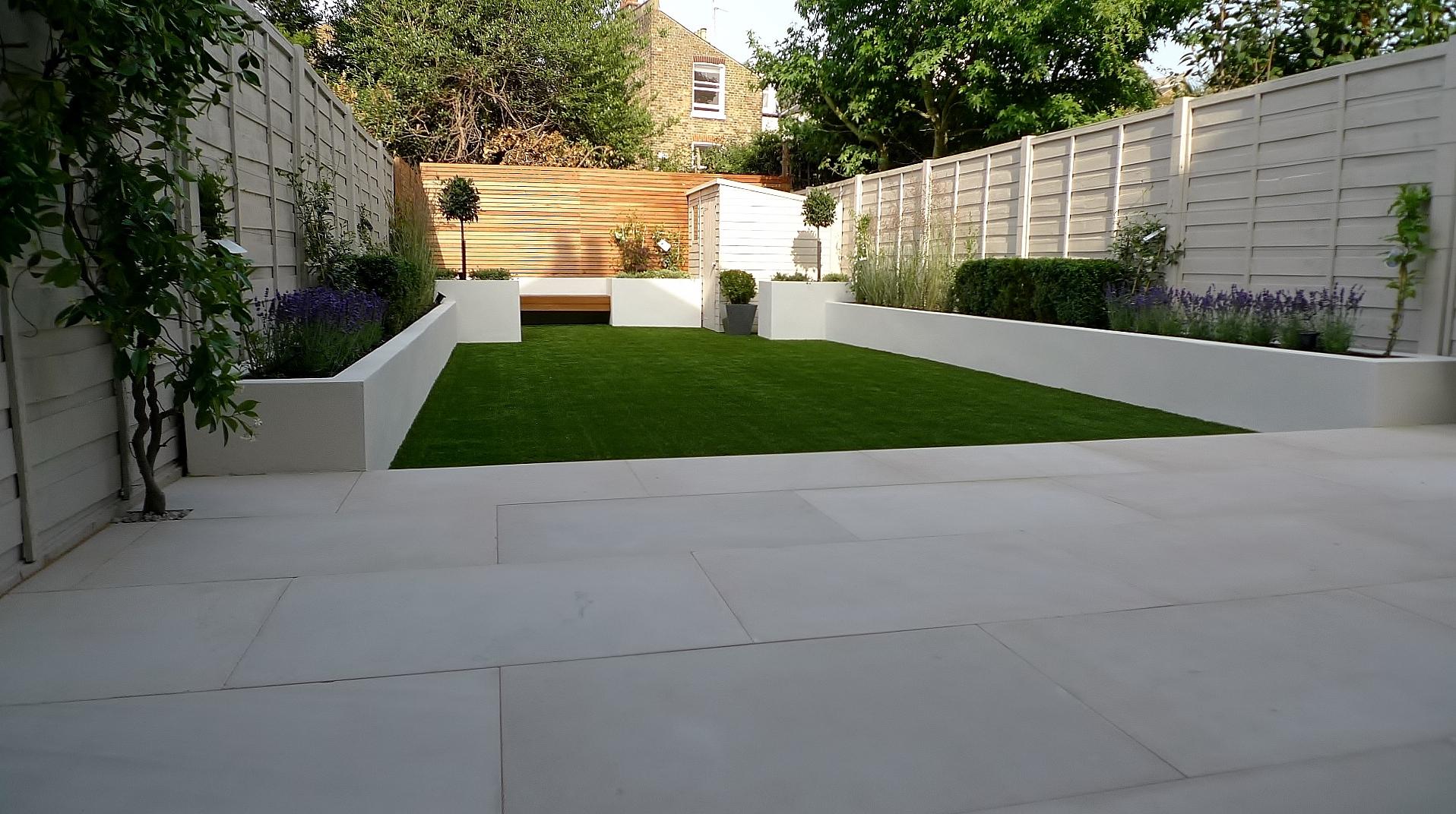 Sandstone | London Garden Design on Modern Small Patio Ideas id=94067
