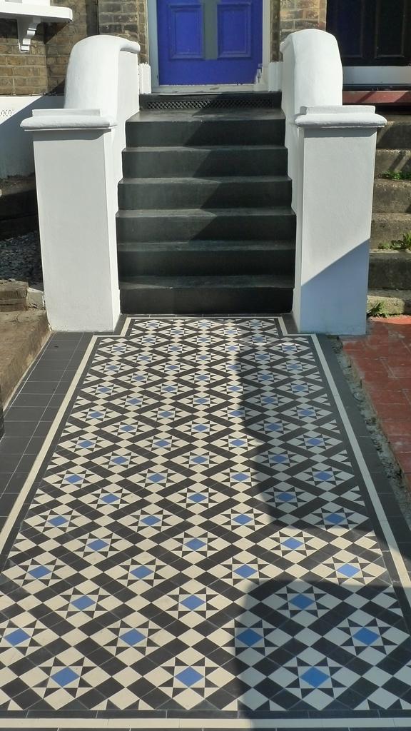 10 Great Victorian Amp Edwardian Mosaic Tile Path Ideas