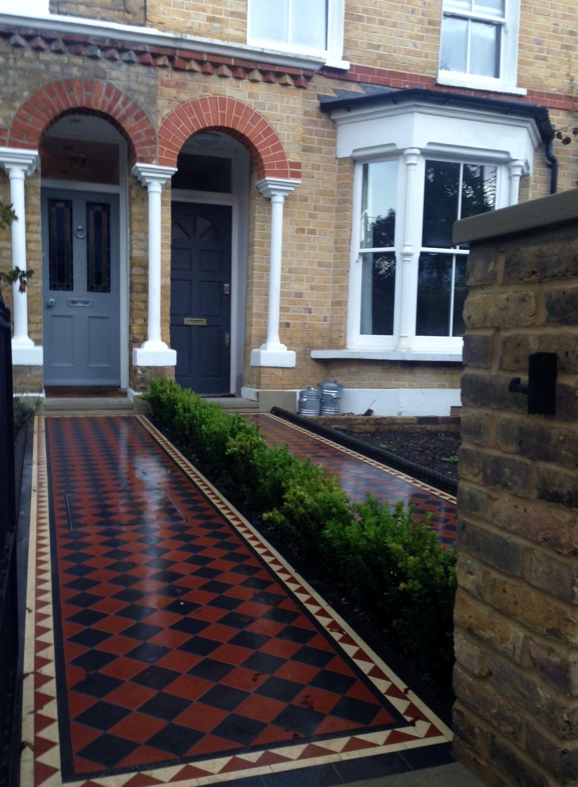 London Front Garden Victorian Restoration Company - London ... on Backyard:uuezyx-Hy-8= Landscape Design  id=90781