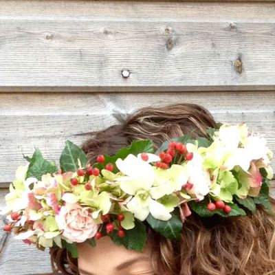 flowerjoy wedding head piece