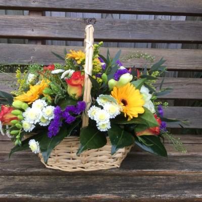 Floral basket by flowerjoy