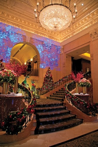 The Peninsula Hotel Christmas in New York