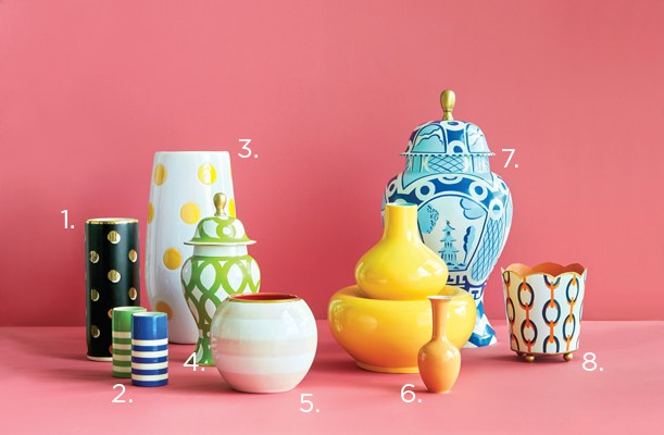bright vases flower magazine