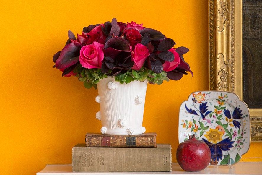 Seeing red and pink flower magazine red and pink flower arrangement mightylinksfo