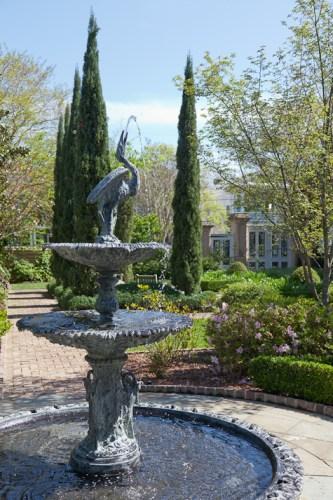 historic Charleston gardens