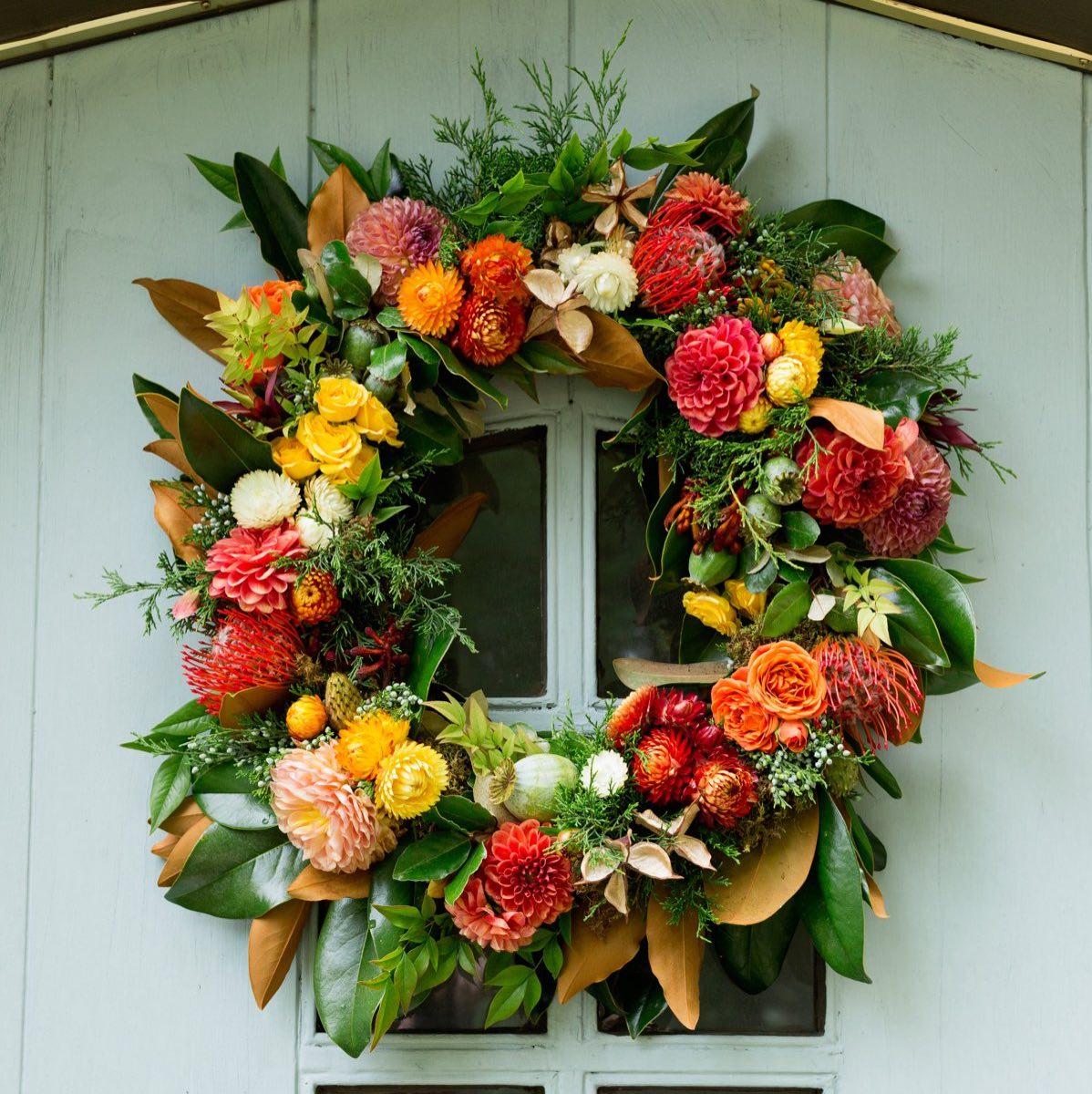 Karin Woodward - How To Make A Fall Wreath