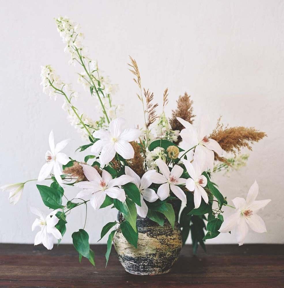sarah winward, perennial flower arrangements