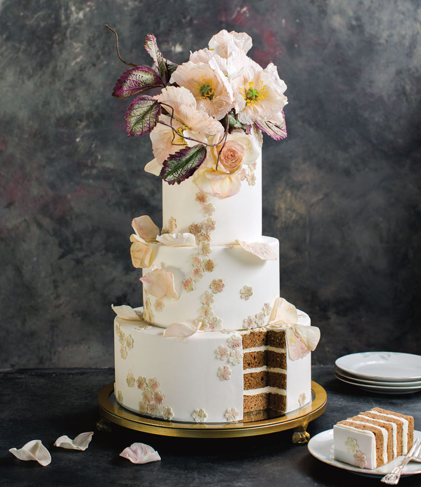 best wedding cake south austin maggie s cake flower magazine 11667