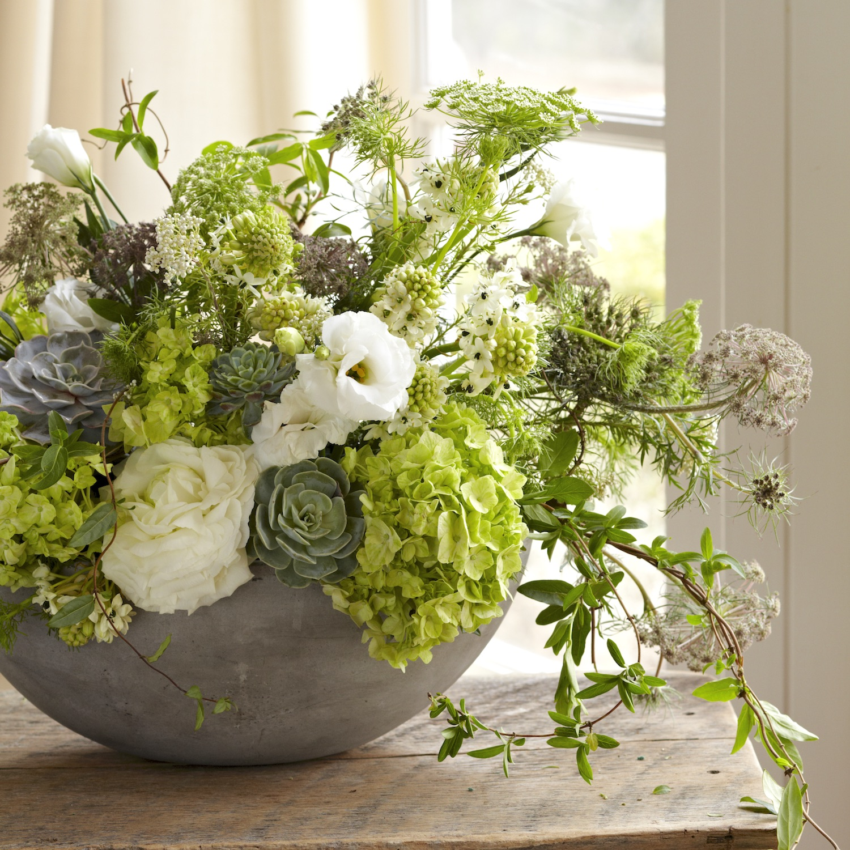 green flower arrangements make the scene flower magazine