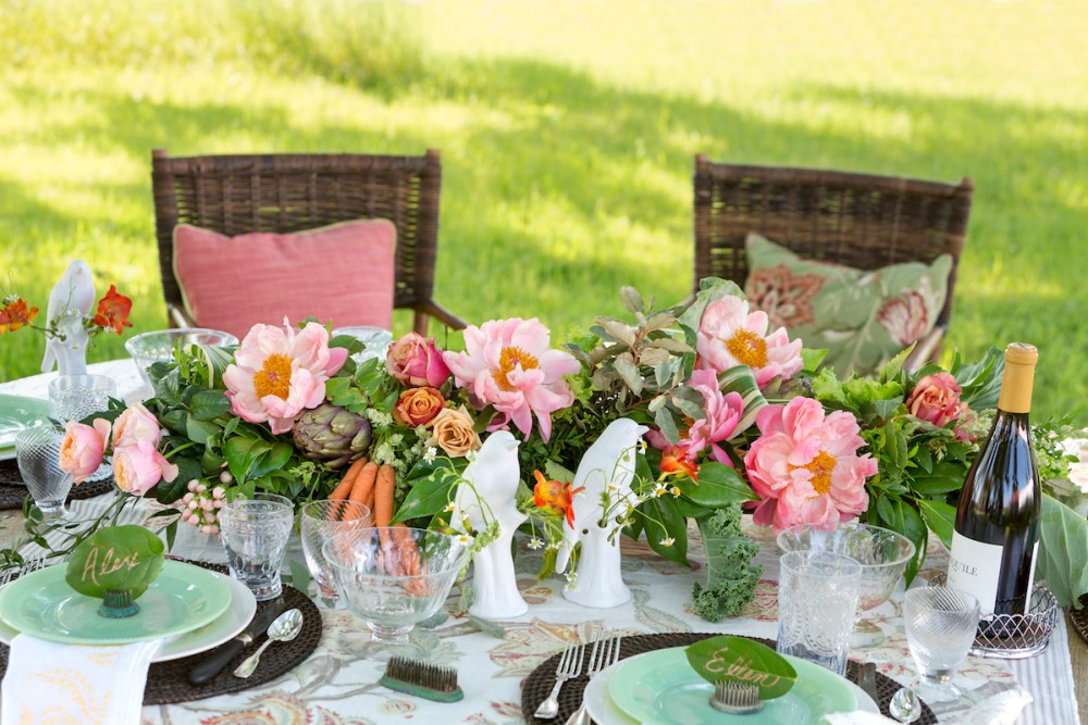 springtime brunch, p. allen smith