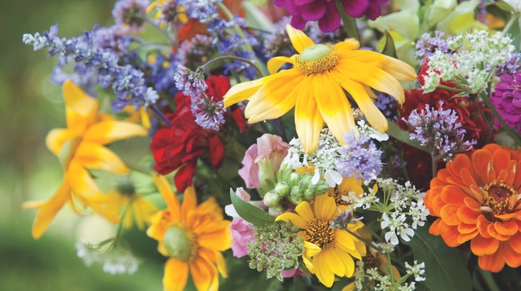 wildflower arrangements