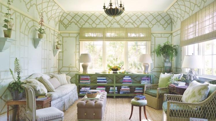 Suzanne Rheinstein, green room