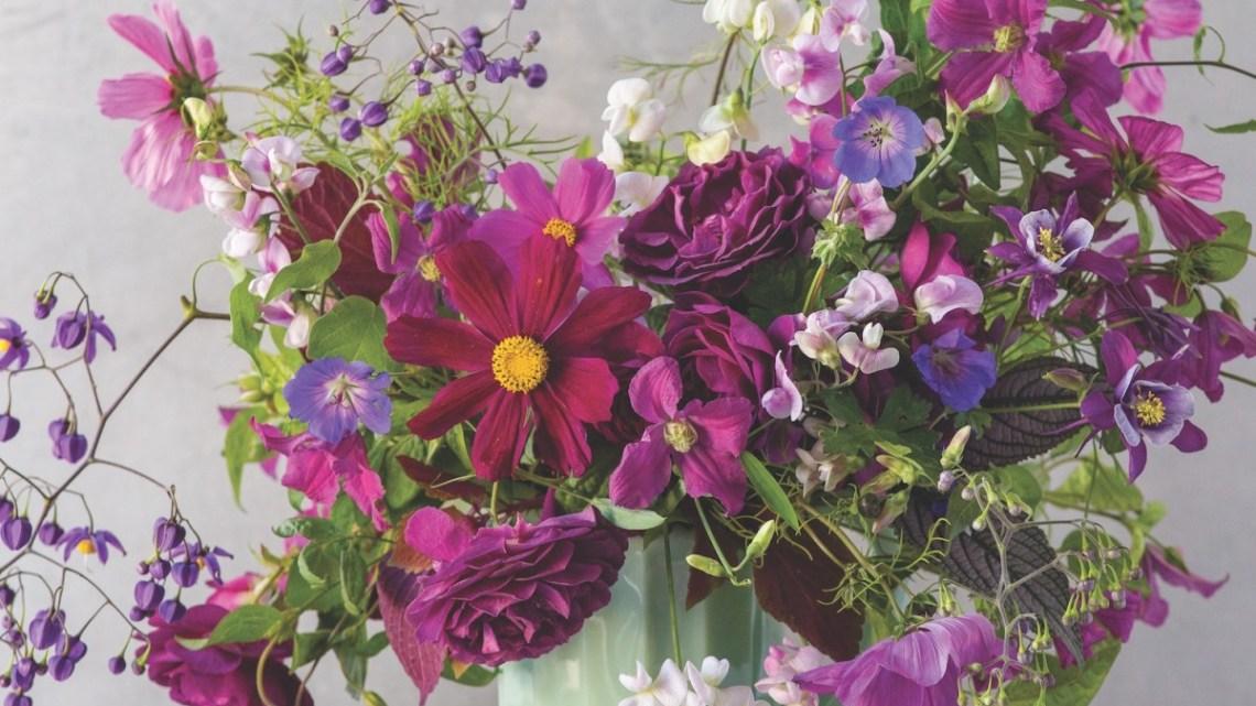 kiana underwood purple arrangement
