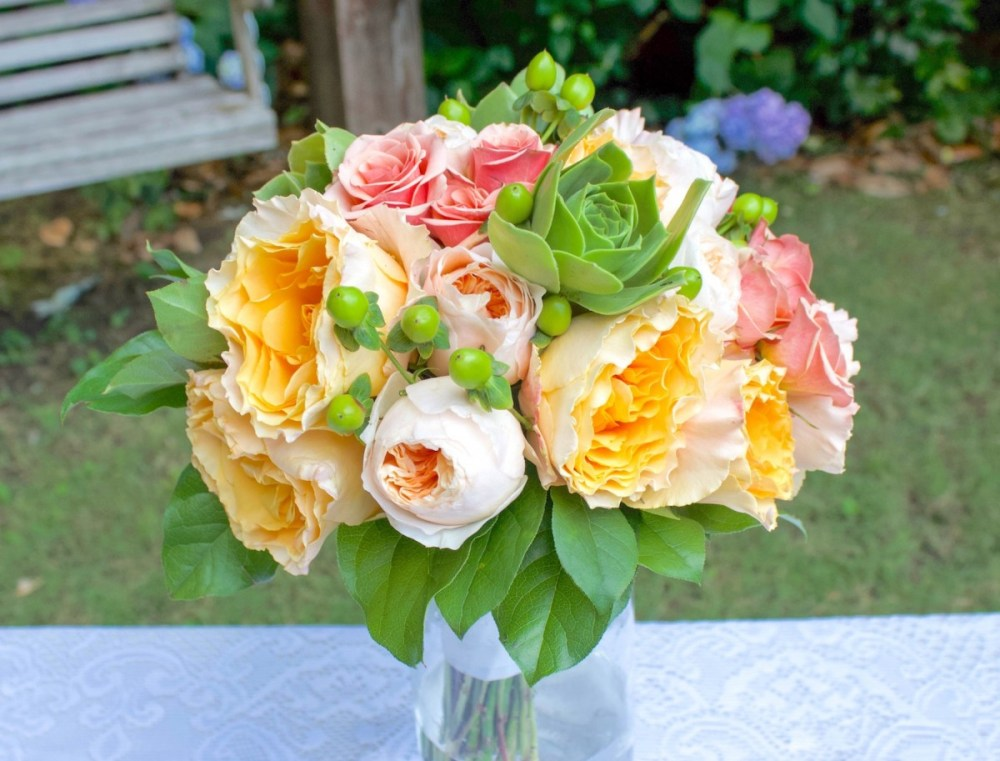 Make A Garden Rose Bouquet Flower Magazine
