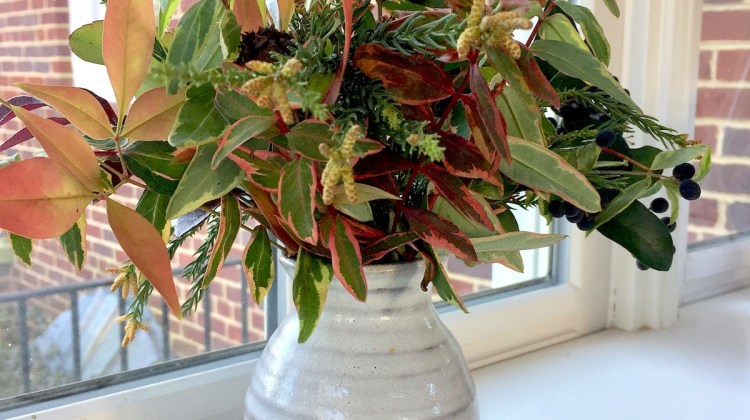 winter foliage arrangements