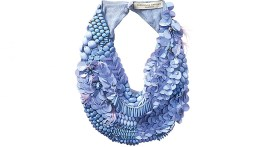 Scarf Necklace from Amano