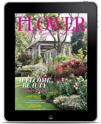 Flower magazine cover May June 2019