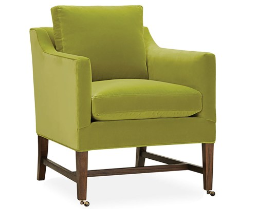 '3853-01' chair in Marco Kiwi by LEE Industries, leeindustries.com