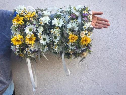 Big LIttle Lies flower crowns by Marisa Bosquez-White of Flores de Bosquez