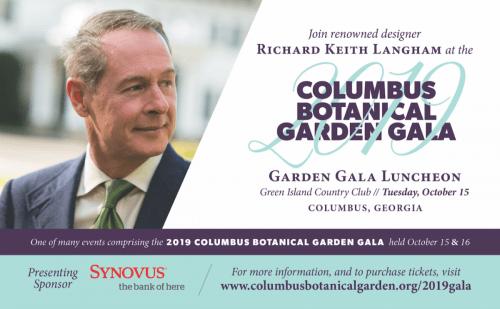Ad for Columbus Botanical Garden Gala 2019