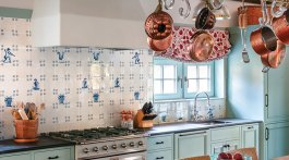 blue-and-white kitchen ideas