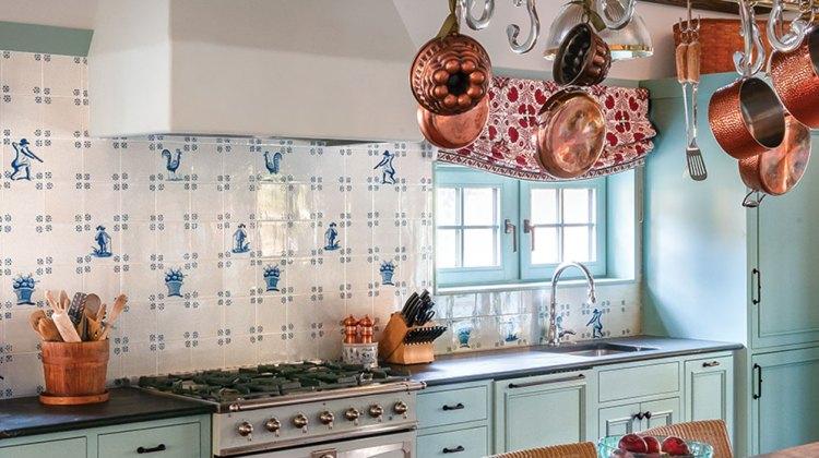 blue-and-white kitchen ideas
