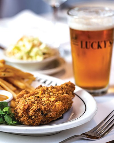 best restaurants in Santa Barbara CA: Lucky's