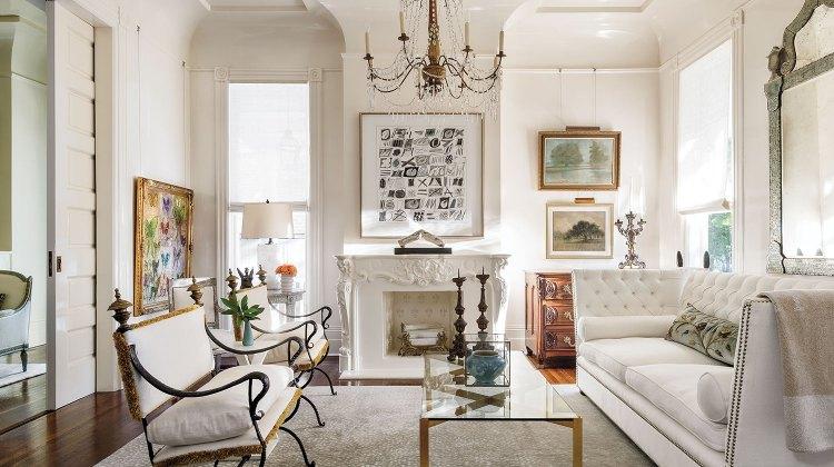 parlor by interior designer Tara Shaw