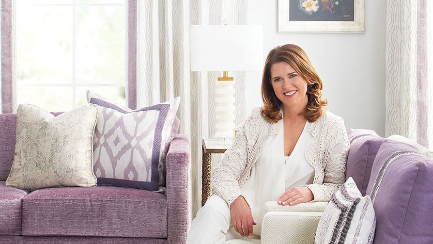 portrait of interior designer Kendall Wilkinson